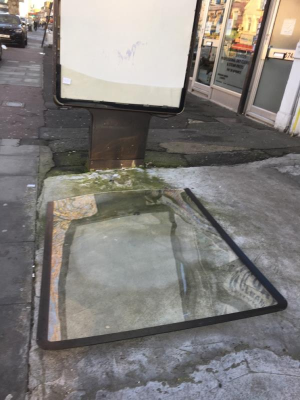 Glass on the floor  image 1-676 Romford Road, London, E12 5AN