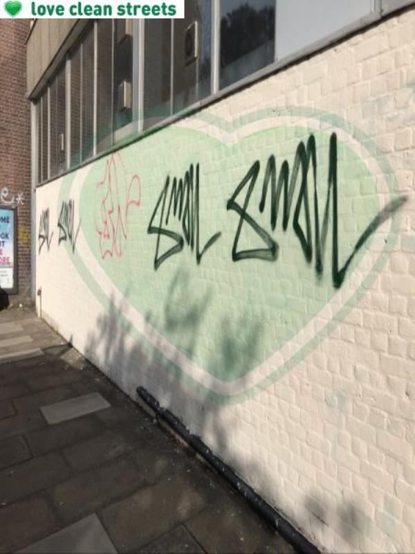 Wall paint 2.5m-275a New Cross Road, London, SE14 6AF