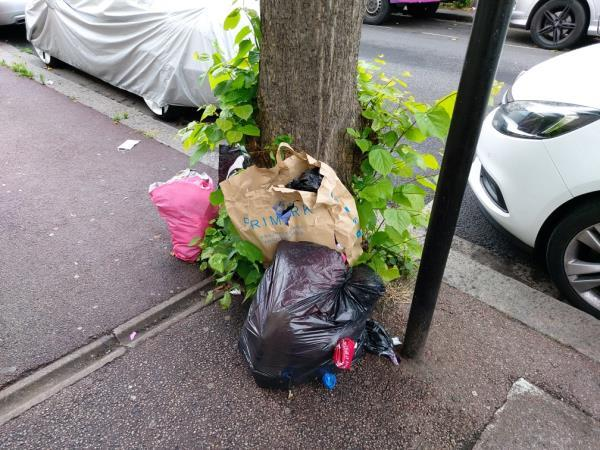 flytip -392 Monega Road, Manor Park, E12 6TY