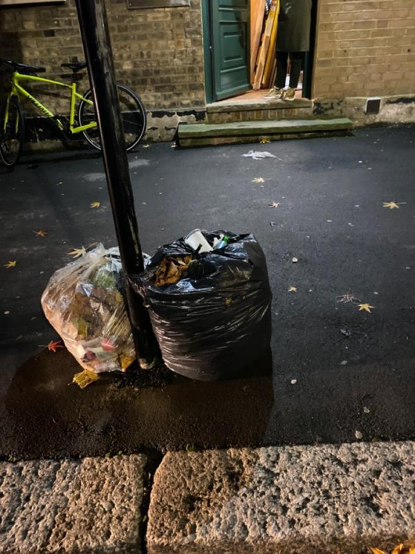 Please can you stop your own street cleaners from leaving rubbish outside residential premises. -58a Woodgrange Road, London, E7 0QH