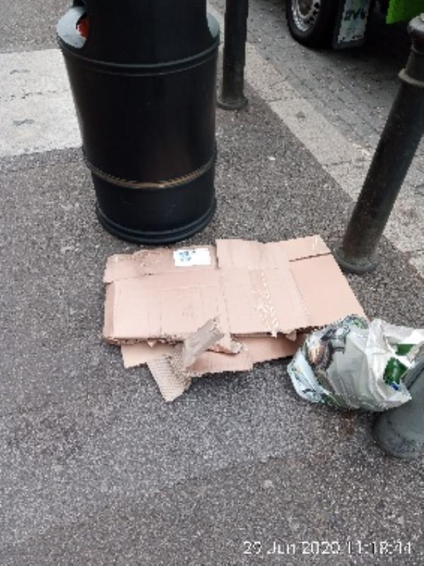 Bag of rubbish. Please clear. -17 Whitley St, Reading RG2 0EG, UK