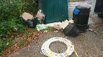 House old waste removed fly tipping on going at this site large amount removed image 1-Tilehurst Library School Road, Reading, RG31 5AS