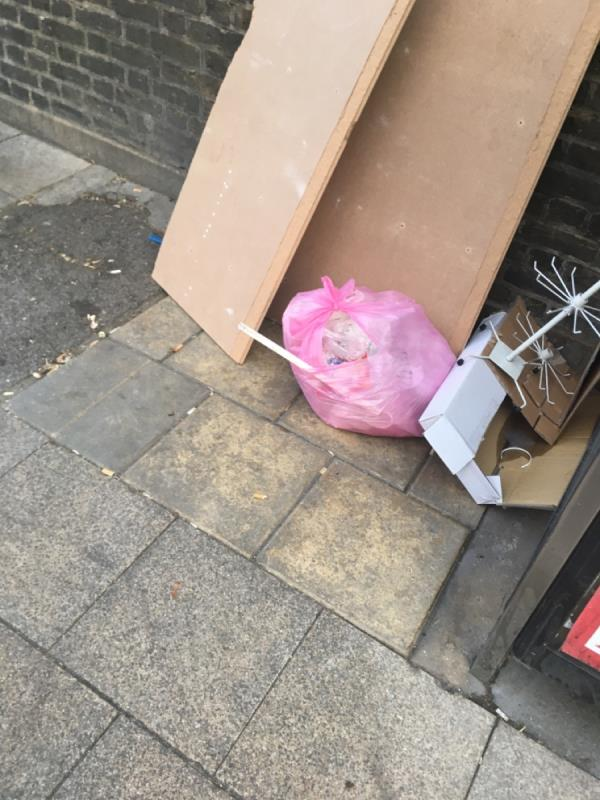 Rubbish -351 Green Street, Plaistow, E13 9AR