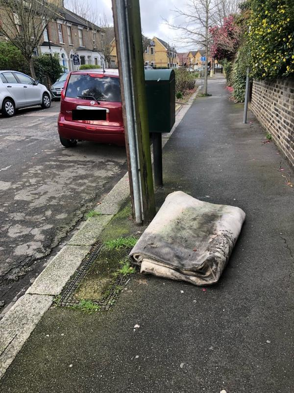 Fly tipping-2 Cumberland Road, London, E12 5AZ