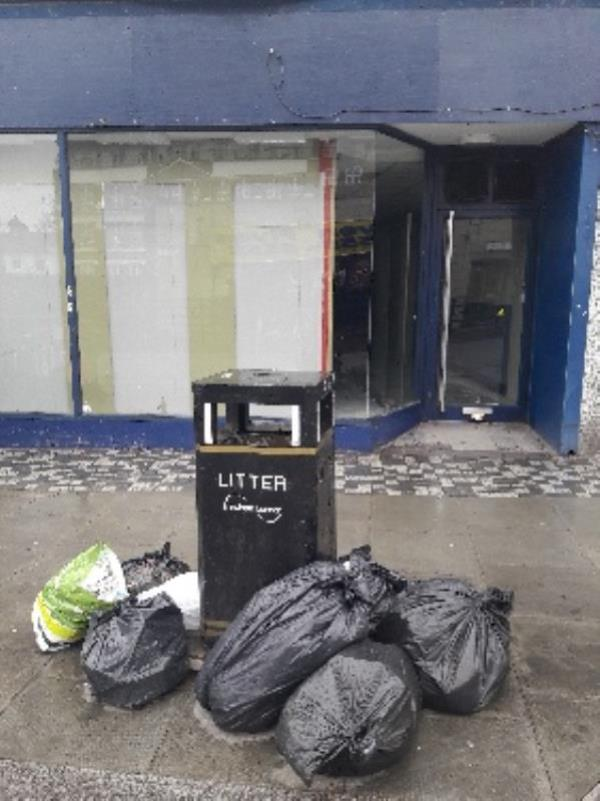 Fly-tipping, 31 Leytonstone Road, Stratford Original Ambassador MK-Maryland Station Leytonstone Road, London, E15 1SA