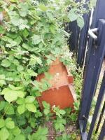 Fly tipping of rabbit hutch and a recycle bin! Down the side alley behind houses on Liverpool Road!  image 1-71 Liverpool Road, Reading, RG1 3PN