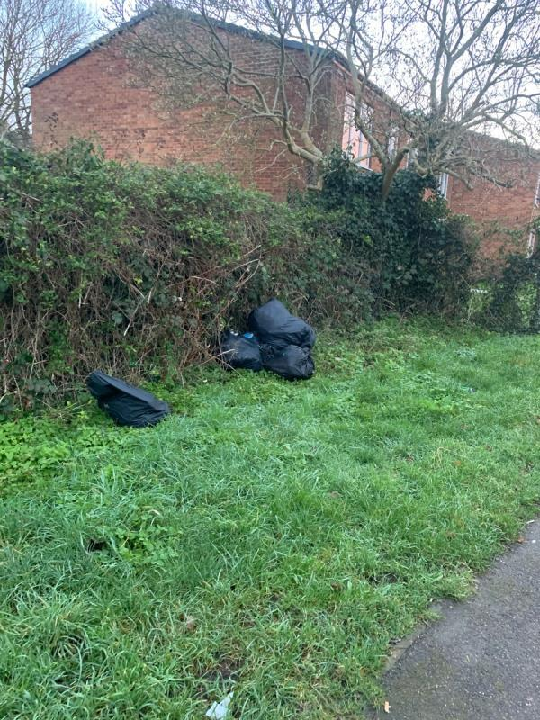 Fly tipping I. Alley behind Lidl and greenfields road-563 Basingstoke Road, Reading, RG2 0SJ