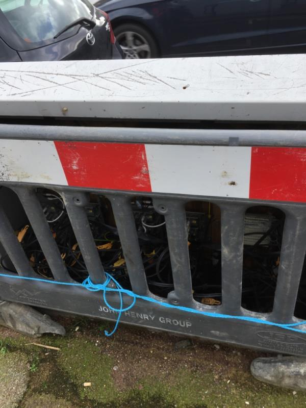 Bt box needs repairing, live wires are being exposed-238a Byron Avenue, London, E12 6NH