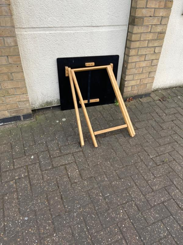 Table in the street-Gloucester House, 26 Gatcombe Road, London, E16 1TB