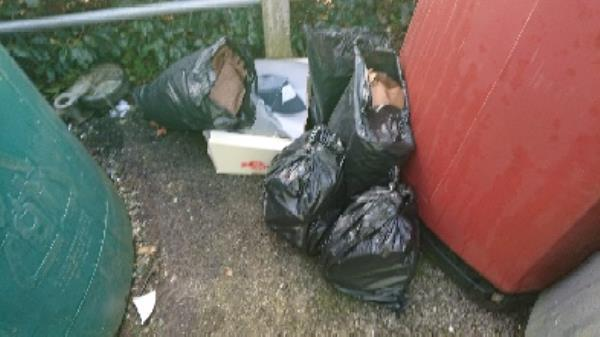 House old waste removed fly tipping -4 Palmer Park Avenue, Reading, RG6 1LF
