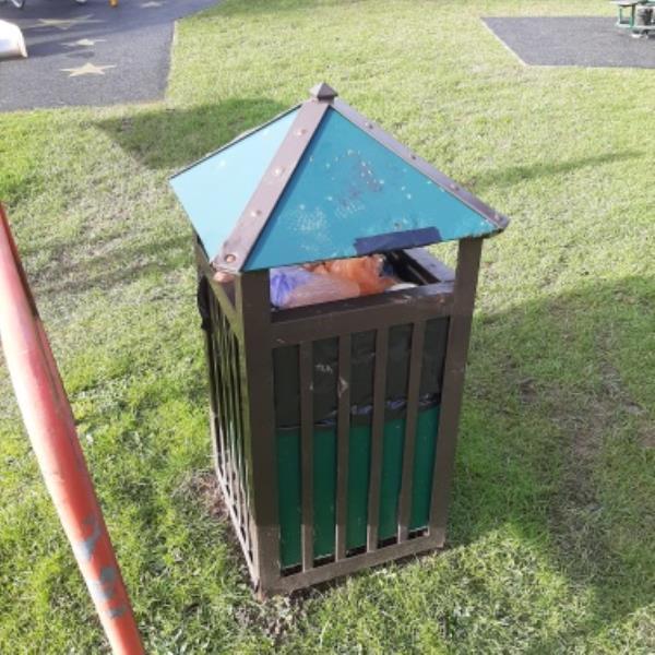 hadlow ave cpa- bin needs emptying- pass to idverde-33 Hadlow Avenue, Eastbourne, BN23 8EL