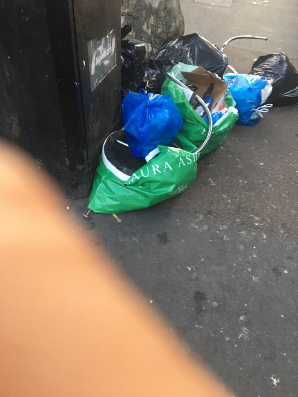 Just these streets are dumping ground!! Please catch these criminals. Never clean these streets-19 Saint Stephen's Road, East Ham, E6 1AN
