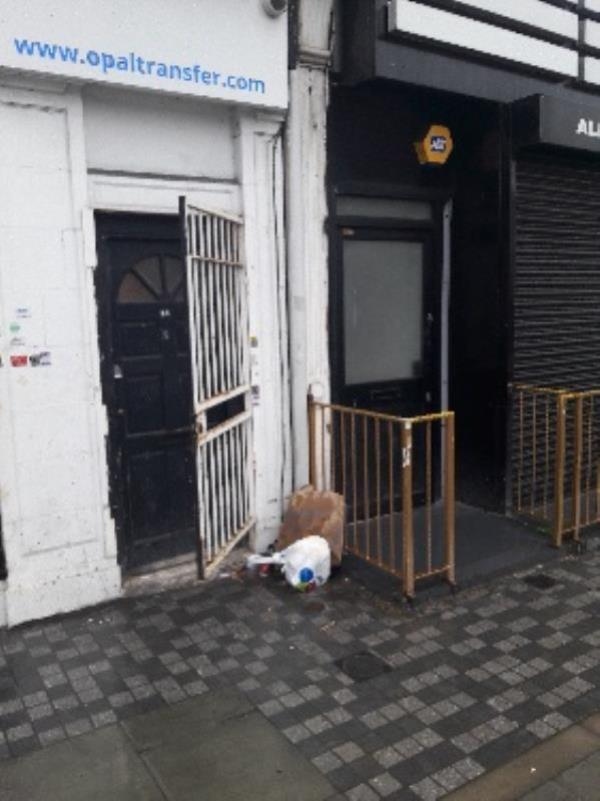 Fly-tipping, 3 Leytonstone Road, Stratford Original Ambassador MK-1 The Grove, London, E15 1SA