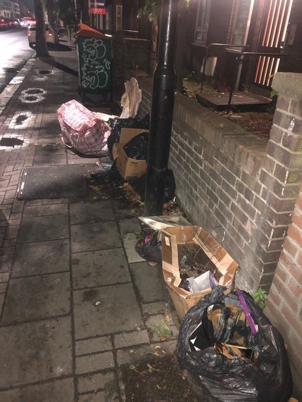 More fly tipping -30 Stopford Rd, London E13 0LZ, UK