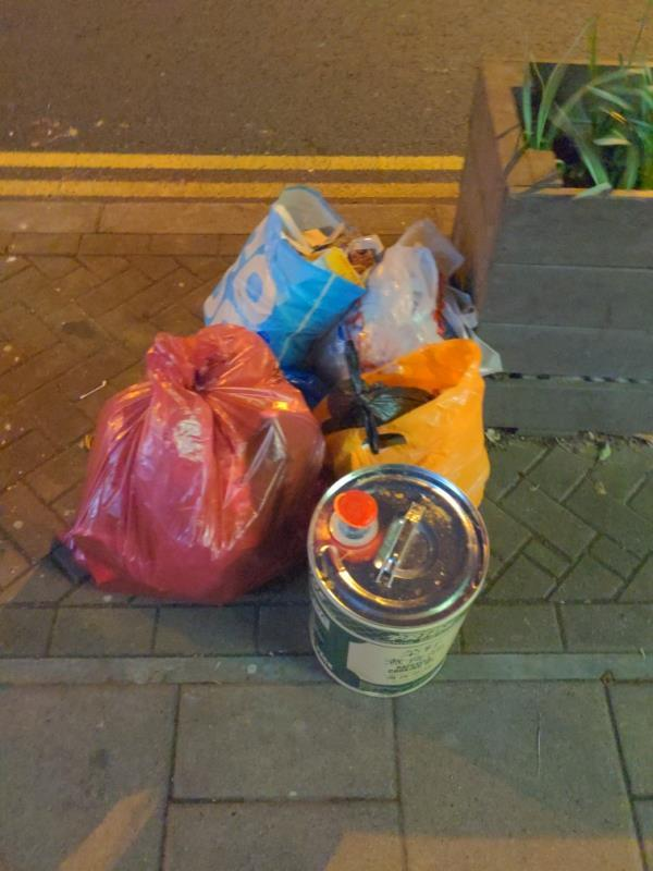 Fly-tipped items-223 Hither Green Lane, London, SE13 6RS