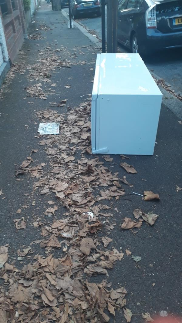 I was told this was collected.  it is outside 36 Lichfield Road, on the pavement -38 Lichfield Road, London, E6 3LG