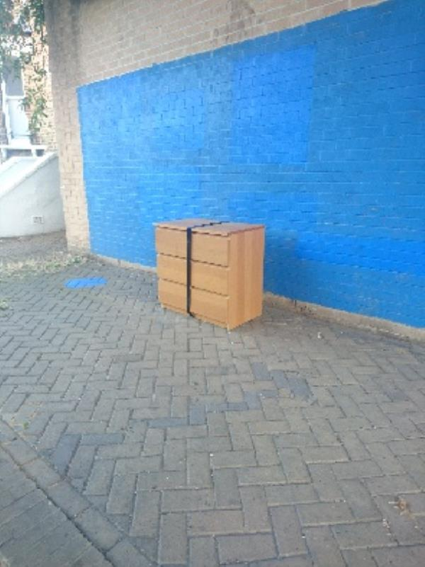 fly tipping -25 Avenue Road, London, E7 0LA