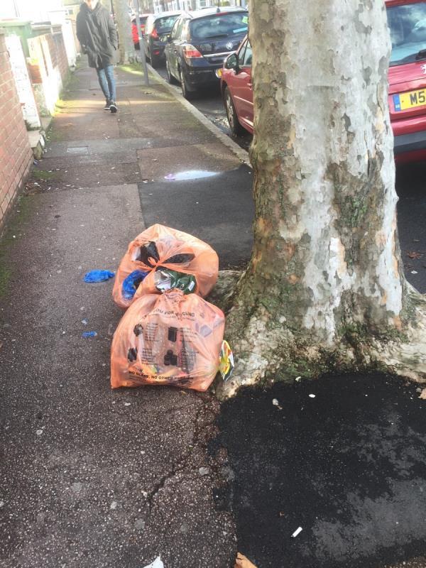 Rubbish dump -109 Shelley Avenue, London, E12 6PX