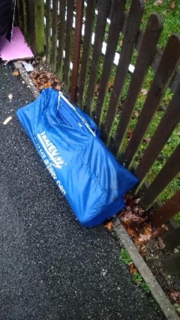 Flytipped items no evidence taken -8 Lower Meadow Road, Reading, RG2 7LZ