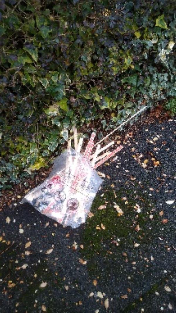 Flytipped carpet grips no evidence taken -93 Ashburton Road, Reading, RG2 7PA