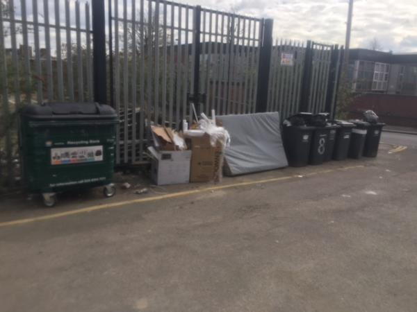 Please clear flytip. Reported by Waste Services-Willow way se26