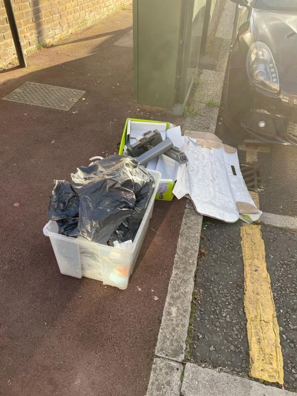 Rubbish  image 1-110 Shakespeare Crescent, Manor Park, E12 6LP