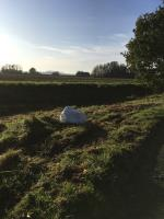 An amount of fly-tipped waste image 1-Meadow Farm Newells Lane, Chichester, PO18 8PH