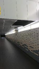 Station underpass ceiling is damaged and falling down image 1-58 Station Hill, Reading, RG1 1PE