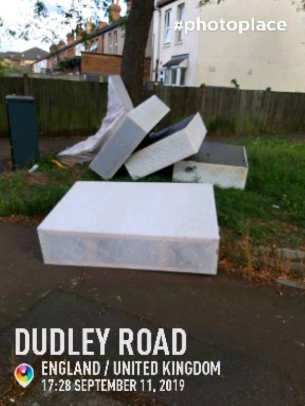 fly tip -78 Dudley Road, London, UB2 5AS