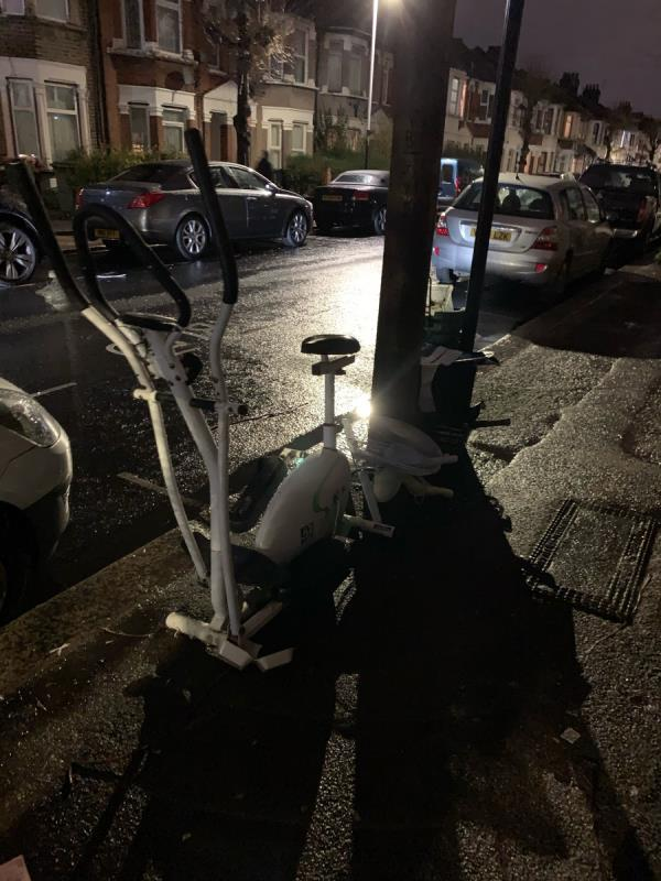 Fly tipping. -346 Sherrard Road, London, E12 6UQ