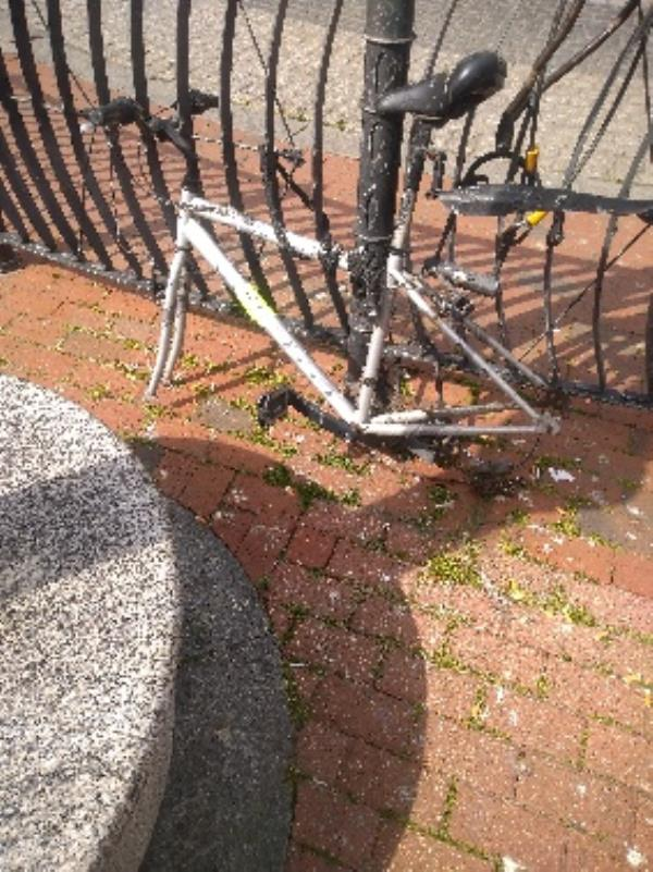 Bike has been dumped-4-5 St Mary's Butts, Reading, RG1 7JL