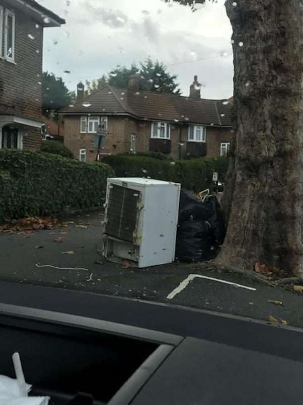 Please clear a fridge-32 King Alfred Avenue, Bellingham, SE6 3HT