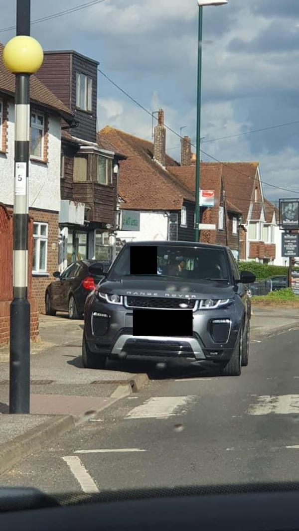 Continuous parking on the zig-zag lines outside One Stop in Elmer Road causing a danger to the public. Locals complain constantly but nothing is done to stop it. More wardens? Barriers? Surely you can offer a solution. -63 Elmer Road, Bognor Regis, PO22 6EH