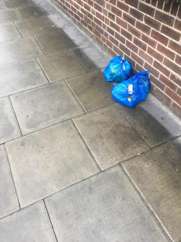 Rubbish been dumped for over a week -866a Romford Road, London, E12 5JP