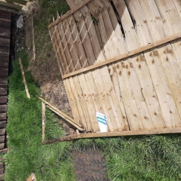 good morning.  could someone please remove flytip fence panels,corner of sandown close/ larkspur drive. thank you   gary batchelor senior advisor  neighbourhood first -2 Sandown Close, Eastbourne, BN23 8EF