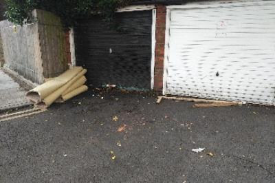 fly tipping-11 Listria Park, Stoke Newington, London N16 5SQ, UK