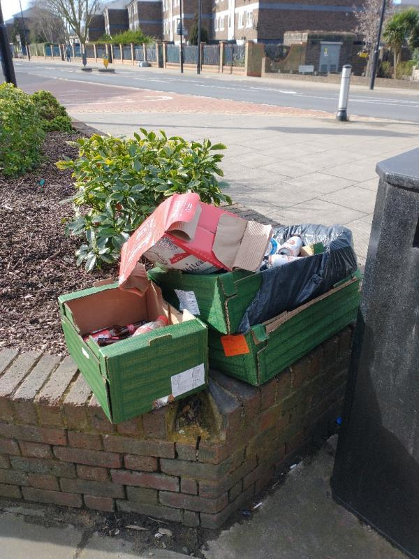 Fly tipping-18 Pelly Road, Plaistow, E13 0LH