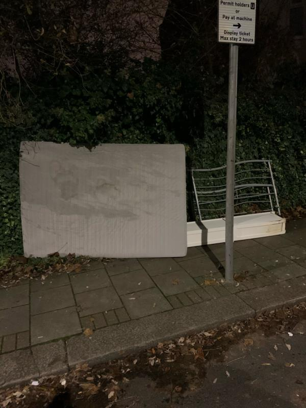 Please set up cctv here. This happens every single day. -110 Harold Road, London, E13 0SF