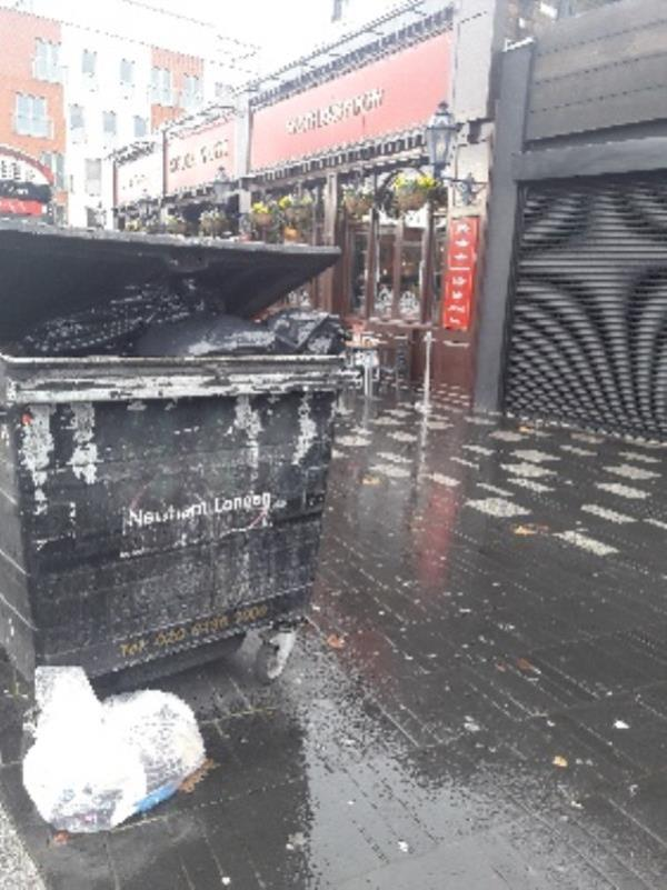 Fly-tipping, 152 The Grove, Stratford Original Ambassador MK-152 The Grove, London, E15 1NS