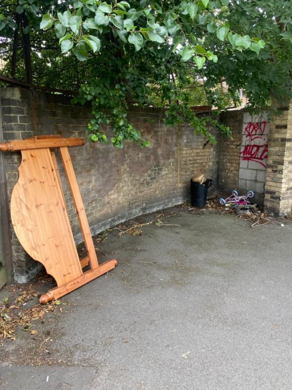 Bed, bin etc -7 Forty Acre Lane, Canning Town, E16 1QL