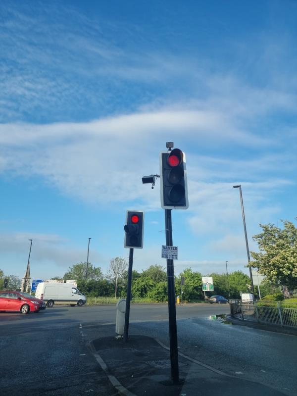 On traffic lights scrap metal adverts-179a The Broadway, London, UB1 1NN