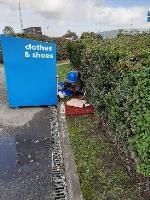 SEESL from NP Zone2 EBC 10th Oct 1pm please could you clear the fly tip behind the textile recycling bank in the council owned B&Q Lottbridge Drove.  thank you-2c Marshall Road, Eastbourne, BN23 6QU