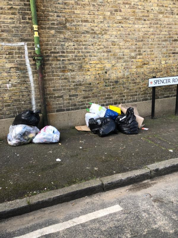 Rubbish bags-4 Spencer Road, London, E6 1HH