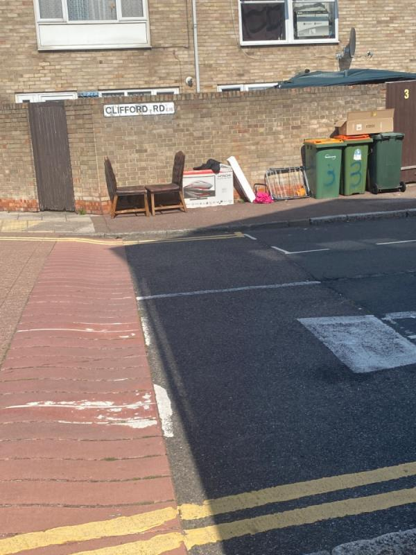 Rubbish -28a Exning Road, Canning Town, E16 4NA