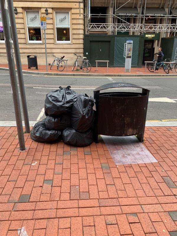 Hi there - flytipping on King St by prospect estate agent. Thanks for clearing these up - have you been able to work out who's leaving them? They all appear to be same bags over the last month/s.... thanks again. -16 King St, Reading RG1 2HE, UK