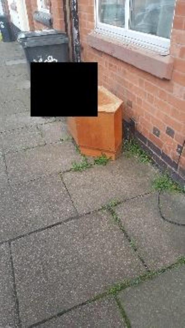 tewkesbury st. illegal dumping-102 Tewkesbury St, Leicester LE3 5HR, UK