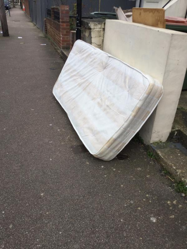 Fly tip -51a Selwyn Road, London, E13 0PY