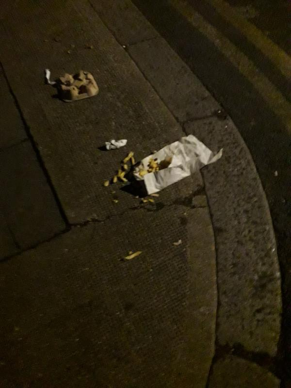 Chips on the floor-14 Chaucer Road, London, E7 9NB