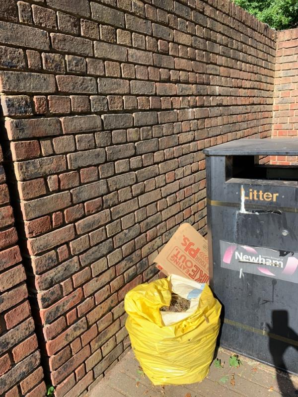 Fly tipping-18 Strait Road, London, E6 5PE