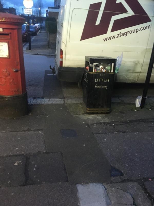 Overflowing every weekend -55a Field Road, London, E7 9DW